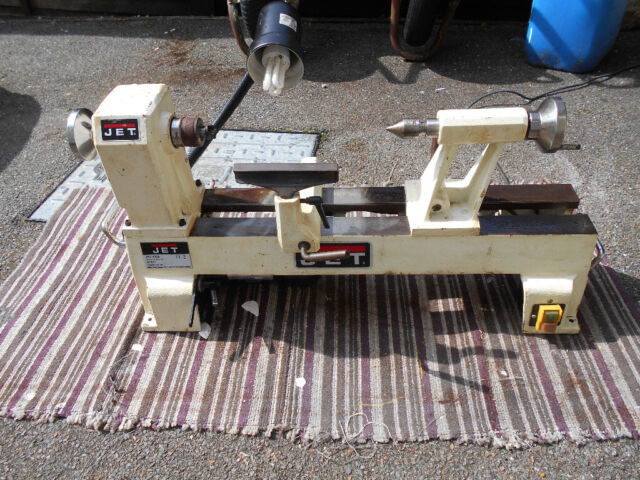 JET 1200 series wood lathe  Cast biron robust small wood lathe    in  Bodmin, Cornwall   Gumtree