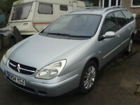 Citroen C5 HDi Exclusive top of the range, Leather Seats, 2.2 Diesel, Long MOT October 2017, Tow Bar