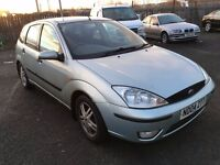 2004 Ford Focus 1.6 zetec , mot - may 2017,service history,2 owners from new,astra,golf,megane