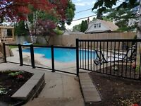 Railings for pool porch deck veranda balcony walkway in Toronto