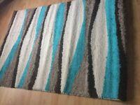 Modern style rug 206cm length 144cm width