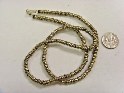 1 handmade kuchi tribal heishe metal spacer beads necklace belly dance ats - Heishe Spacers