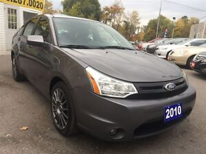 2010 Ford Focus SES/LEATHER/ROOF/LOADED/ALLOYS