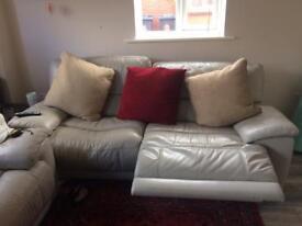 2-3 seater manual reclining sofa