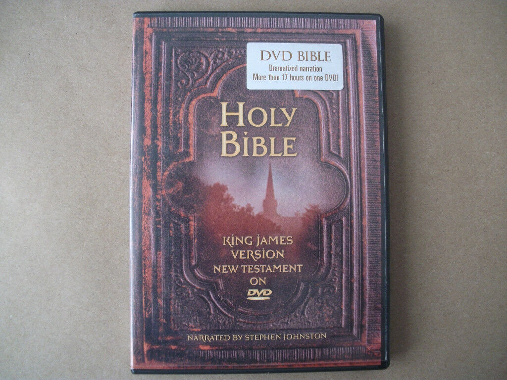Free Christmas gift. The Holy Bible on Dvd New Testament free to go ...
