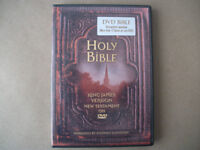 The Holy Bible on Dvd New Testament free to go to new home