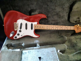 Fender Stratocaster from the 70s with case