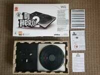 DJ Hero 2 Deck For Wii As New Boxed