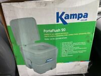 Kampa portarflush 20 in very good Condition brand new in box