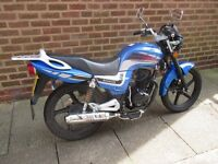 lexmoto arrow 125 2014 project spares or repairs