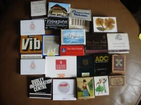 Vintage Matchbooks and Matchboxes Lot Matchbook Cases