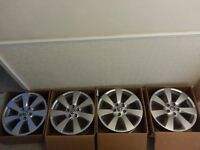 """Vauxhall Astra GTC Sport 18"""" 5x115 Ronal Alloy Wheels x4"""
