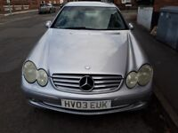 2003 MERCEDES CLK for SALE