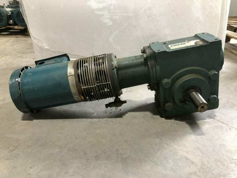 Dodge Tigear 2 35S30R Gear Drive/Speed Reducer 30:1 3/4HP 1725RPM 3PH
