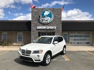 2013 BMW X3 CLEAN 28i! PANO ROOF! FINANCING AVAILABLE!
