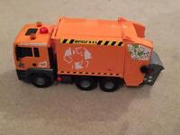 Very good condition recycle truck with bin