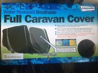 *New* Water Resistant Breathable Full Caravan Cover ~ Medium