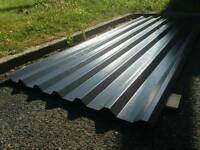Anthracite grey 34/1000 roof cladding sheet