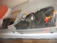 Unwanted Christmas present Scalextric racing set 4 cars and plenty of track