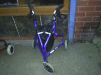Tri Walker , mobility aid , helps walking