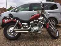Yamaha Virago 535, low milage, excellent condition