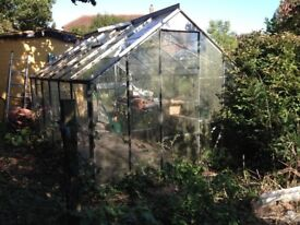 Greenhouse already dismantled