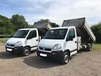 VAUXHALL MOVANO 2.5 DIESEL TIPPER TRUCK 2009 09-REG *CHOICE OF 2* SERVICE HISTORY DRIVES EXCELLENT