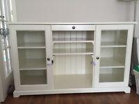 IKEA white sideboard unit