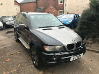 BMW X5 2.9 d Sport 5dr - 2002, Satnav, Heated Leathers, 11 Months MOT, Service History! Great 4x4!