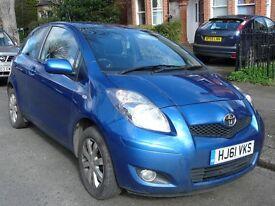 2011 Toyota Yaris 1.0L VVT-i T Spirit, Sat Nav,Parking sensor, £30 Tax, MOT,Low Mileage