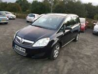 Zafira life 1.6l 5dr 1 year mot low mileage service history excellent condition