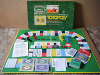 Collectable (TOTOPOLY) Horse racing board game. Waddingtons 1972. Very good condition, Complete.