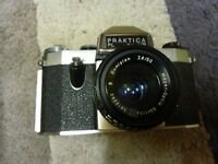 Vintage Old Practica Camera, see photo