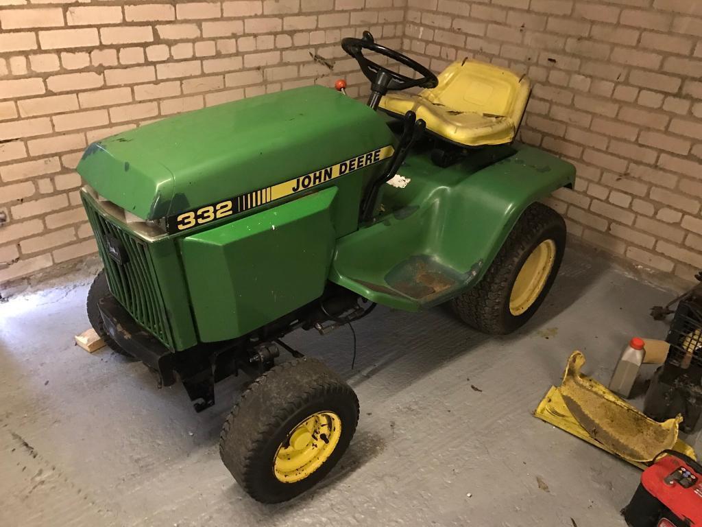 John Deere 332 Diesel Garden Tractor In Dumfries