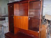 Free Glass door Display Cabinet delivery Available
