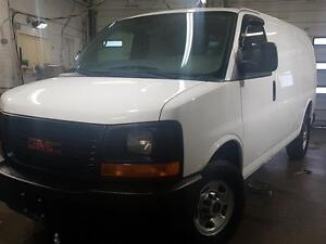 2012 GMC Savana Cargo Van 2500 LOW KM Mint condition,CERTIFIED
