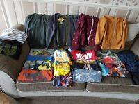 Boys clothes size 9-10 years
