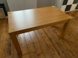 IKEA 'Høgsby' Oak Veneer Dining Table