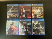 Sony PlayStation 4 Slim 500GB Console, 2 controller with 6 games, Charging Dock
