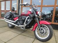 EVOLUTION MOTOR WORKS - Lurgan. Hyosung ST7 - £1000 worth of extras. Beautiful cruiser, As New.