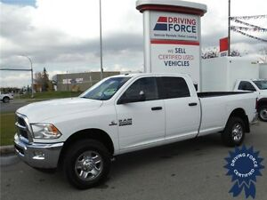 2015 Ram 3500 SLT Diesel 4x4 - Crew - 8ft Long Box - Backup Cam