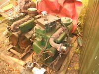 Lister 3cyl Sledge mounted diesel generators engines
