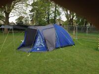 5 berth tent and equipment