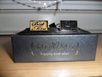 Best Man Cufflinks Boxed - Can Post.