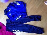 Boys genuine addidas tracksuit new with tags 13/14