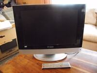 """Wharfedale T.V. 19"""" HD Ready. Digital LCD TV/DVD Combi. Remote. Boxed"""