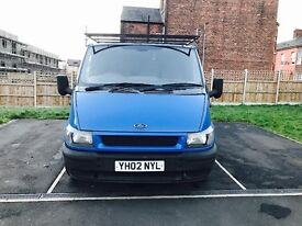 FORD TRANSIT YH02NYL MOT 9 MONTHS 130K SOLID VAN DRIVES LIKE BRAND NEW