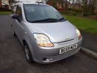 Chevrolet Matiz Great Small City Car, Very Low Mileage - 29900 miles, Cat D, 0.8 L, 2009