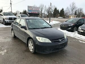 2004 Honda Civic **5 Speed**2 Sets of Tires & Rims