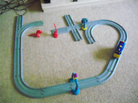 speaking toy train and accessories